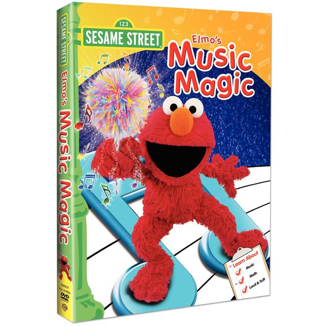 Sesame Street Elmo's Music Magic DVD