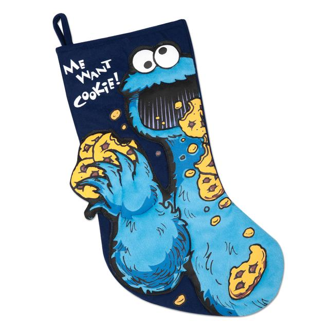 Sesame Street Cookie Monster Stocking