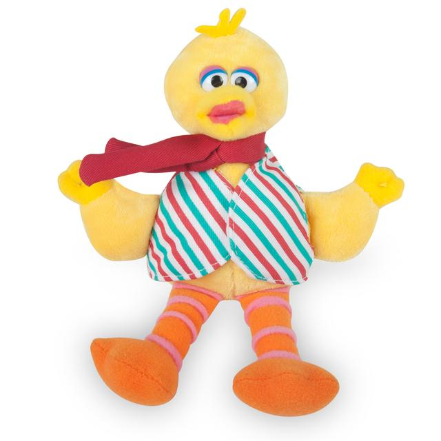 Sesame Street Big Bird Stripes Musical Holiday Plush