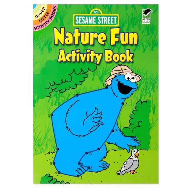 Sesame Street: Nature Fun Activity Book