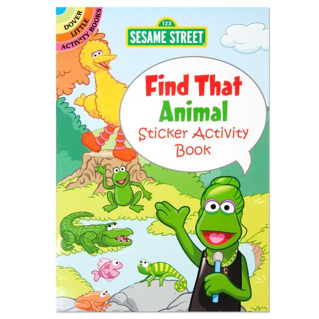 Sesame Street: Find That Animal Sticker Activity Book