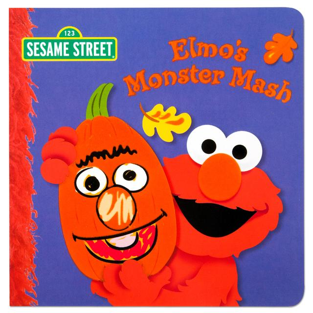 Sesame Street Elmo's Monster Mash Book