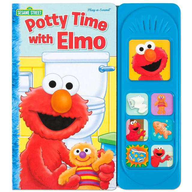 Sesame Street Potty Time with Elmo Sound Book