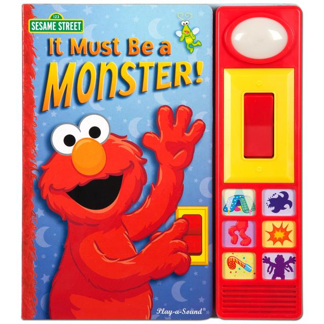 Sesame Street Elmo's It Must Be a Monster Book