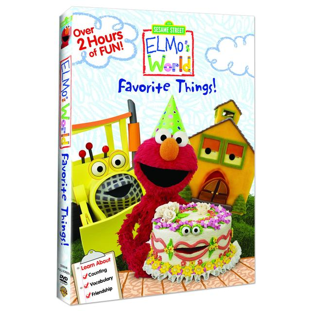 Sesame Street Elmos World: Favorite Things DVD