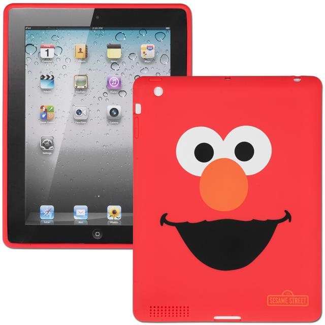 Sesame Street Elmo TPU Case For iPad 2