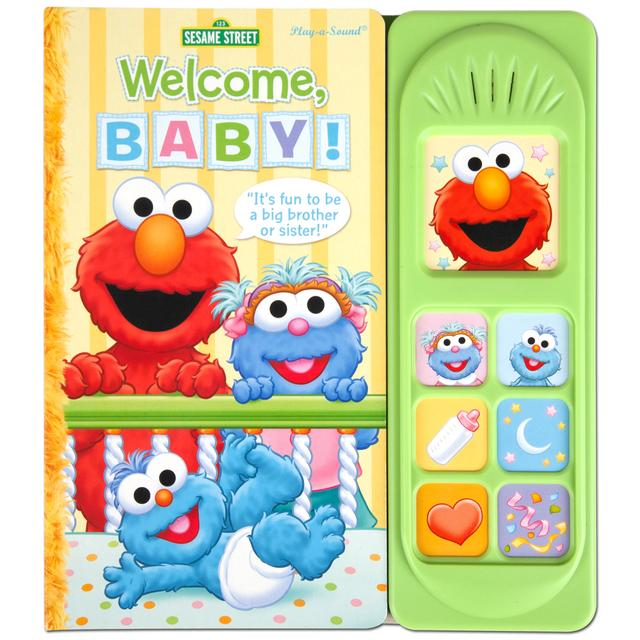 Sesame Street Welcome Baby! with Elmo - Little Sound Book