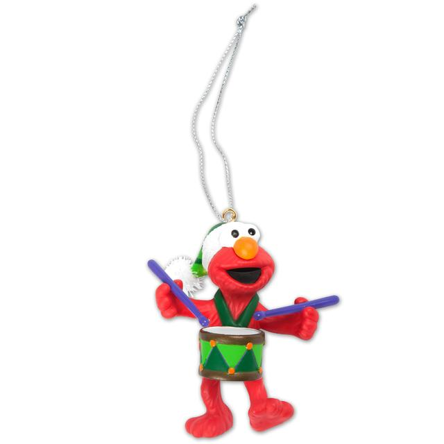 Sesame Street Elmo with Drum Ornament