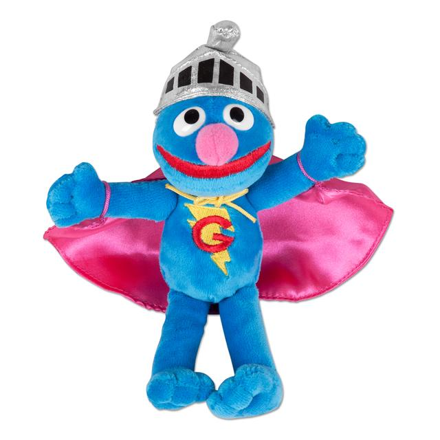"Sesame Street Super Grover 7"" Beanbag Plush"