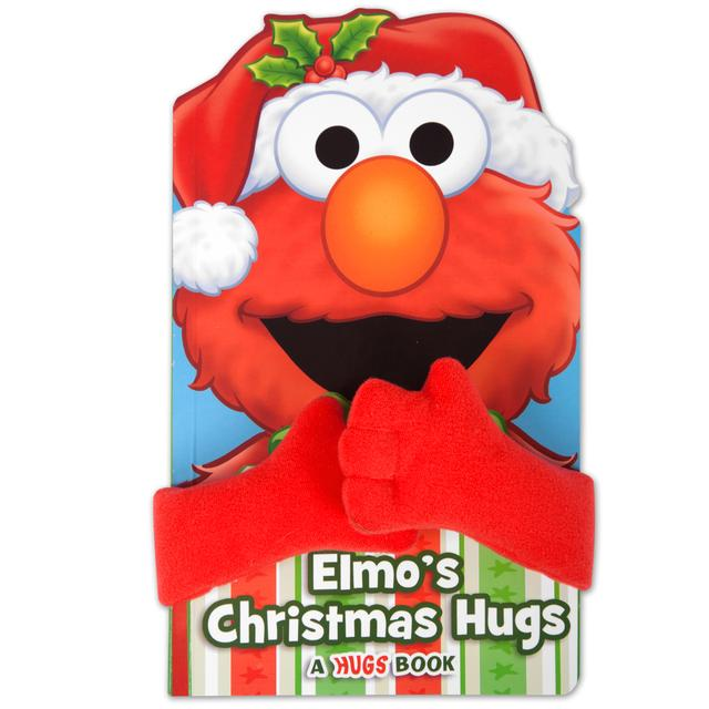 Sesame Street Elmo's Christmas Hugs Book