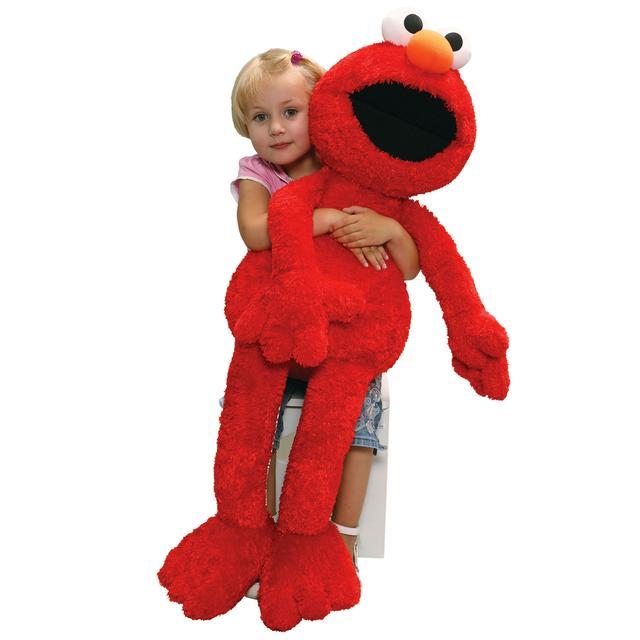 Sesame Street Elmo Jumbo Plush