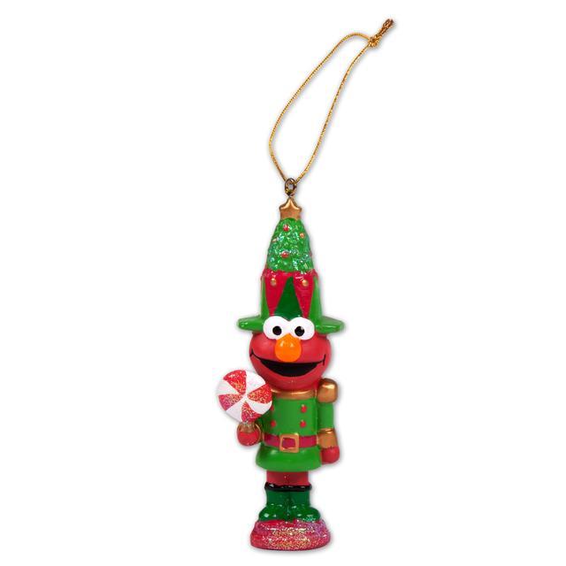 Sesame Street Elmo Nutcracker Ornament