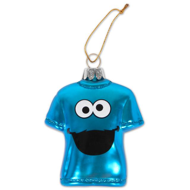Sesame Street Cookie Monster Big Face T-shirt Ornament