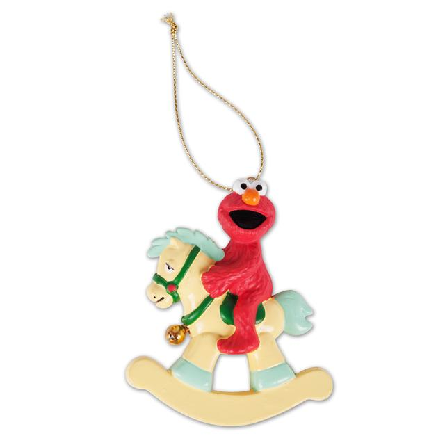 Sesame Street Elmo Rocking Horse Ornament