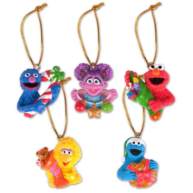 "Sesame Street Friends 1.5"" 2D Mini Ornament Pack"