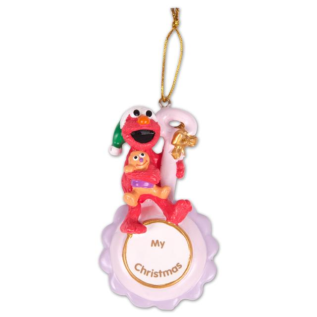 Sesame Street Elmo My Christmas Pink Ornament