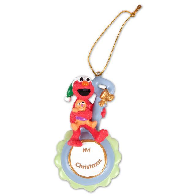 Sesame Street Elmo My Christmas Blue Ornament