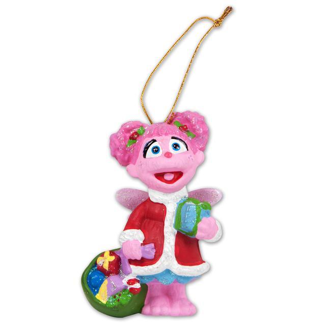 Sesame Street Abby Santa Ornament