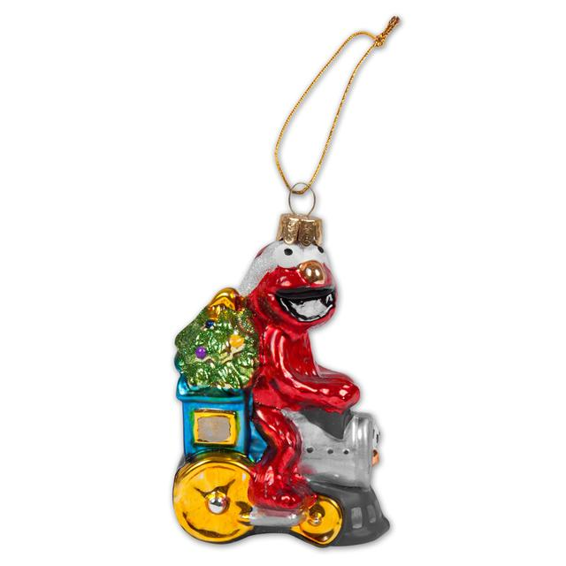 "Sesame Street 5"" Elmo Train Ornament"