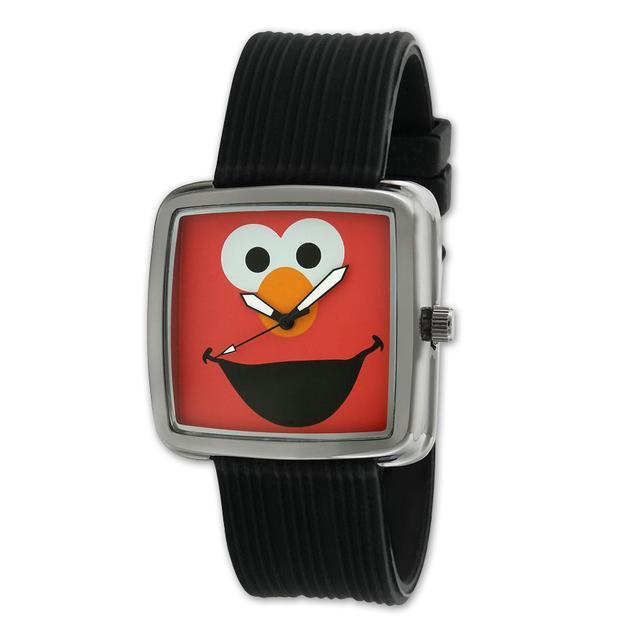 Sesame Street Elmo Gun Metal Watch