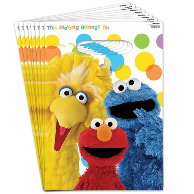 Sesame Street Elmos Party Loot Bags