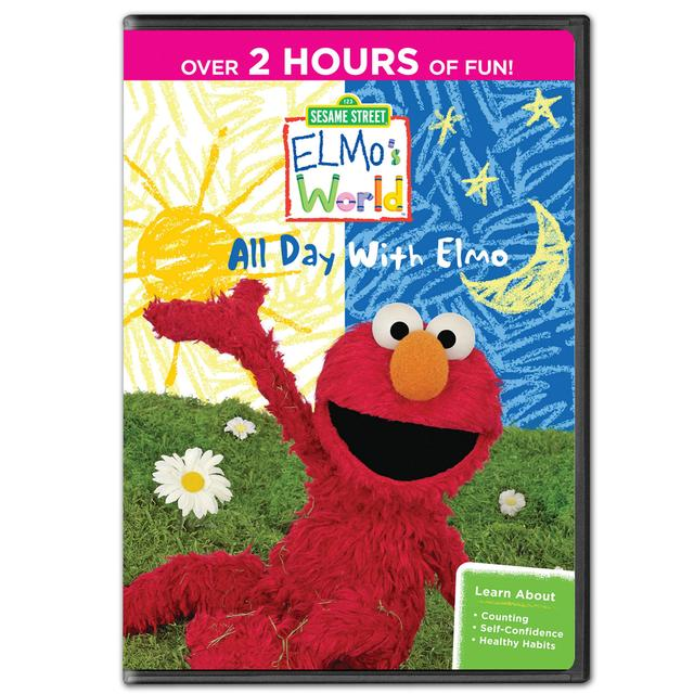 Sesame Street Elmo's World: All Day with Elmo DVD