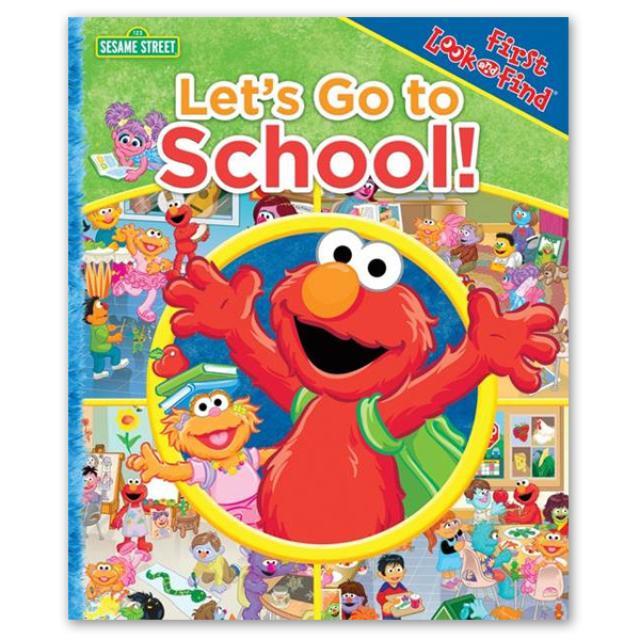 Sesame Street Let's Go to School! Book