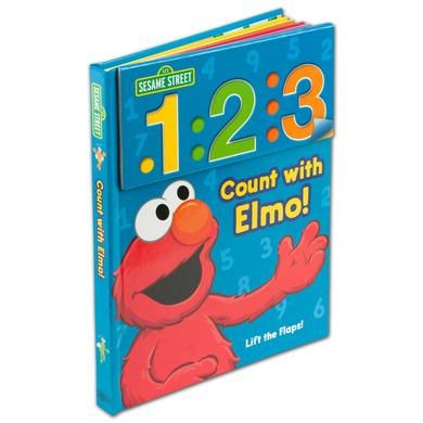 Sesame Street Seame Street Count With Elmo Book