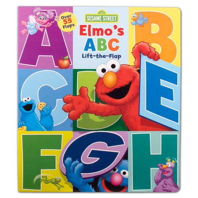 Sesame Street Elmo's ABC Lift-the-Flap Book