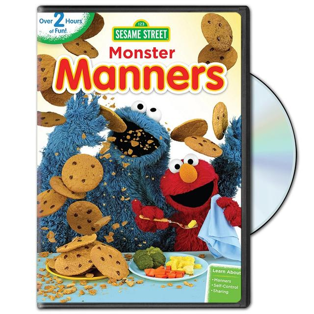 Sesame Street Monster Manners DVD