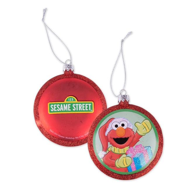 Sesame Street Elmo Blow Mold Ornament