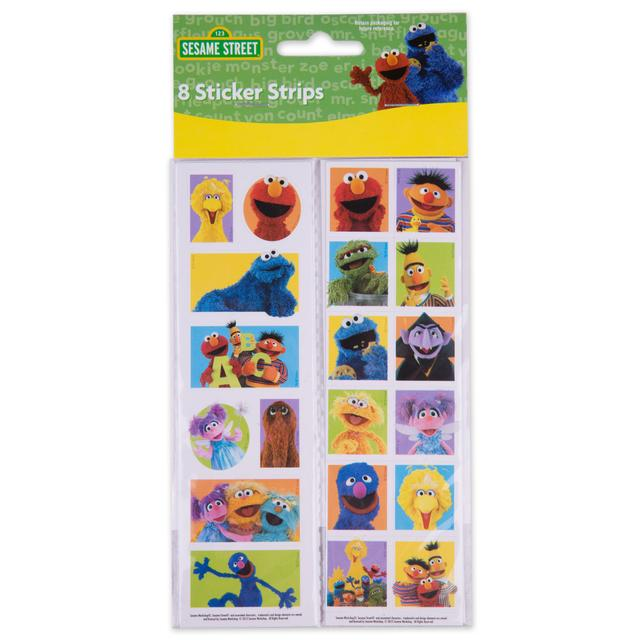 Sesame Street Party Sticker Strips