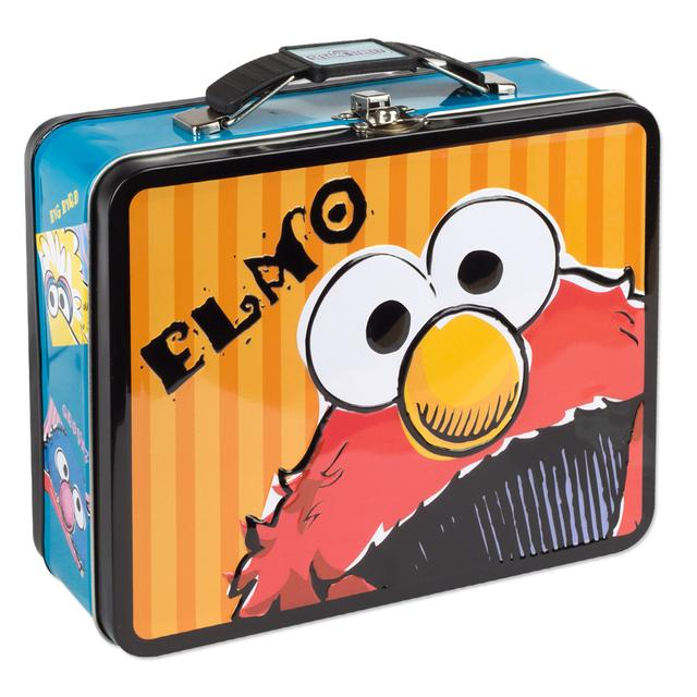 Sesame Street Elmo Large Tin Lunch Box