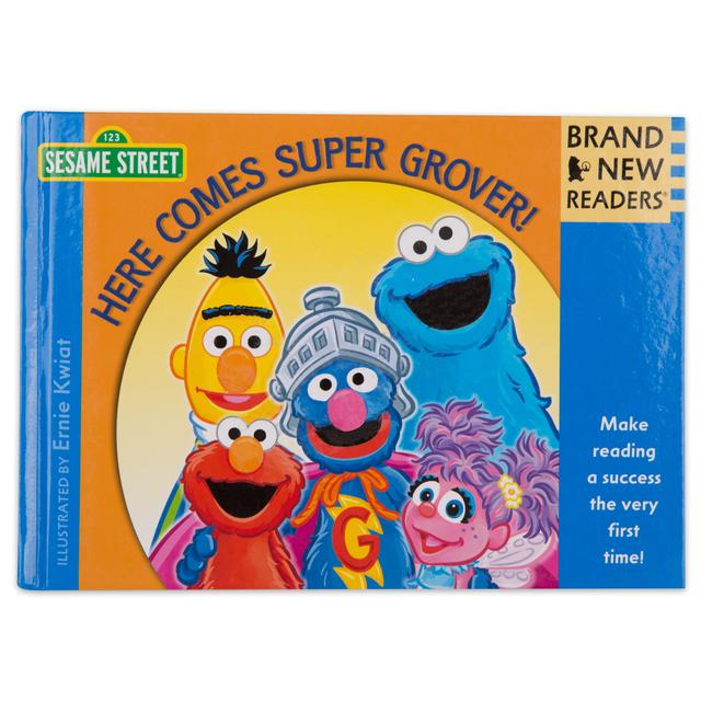 Sesame Street Here Comes Super Grover Hard Cover