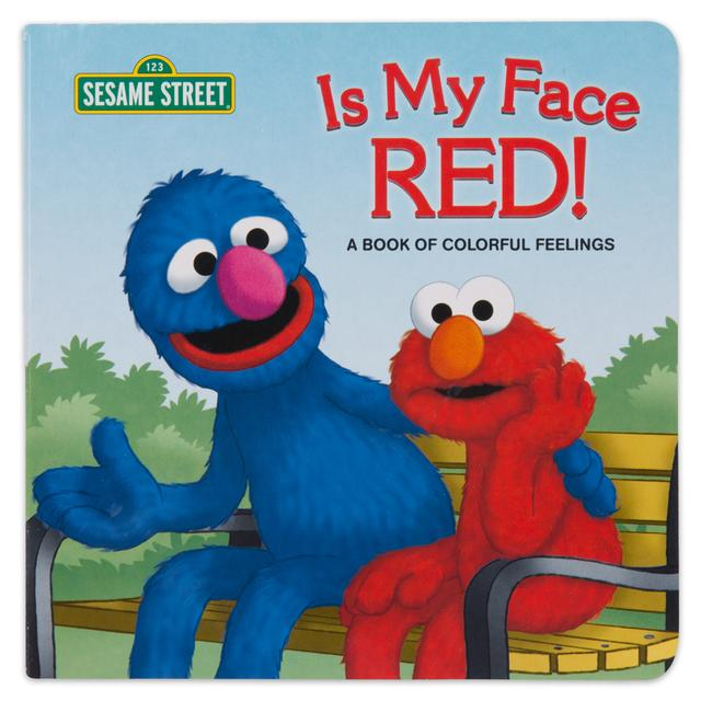 Sesame Street Is My Face Red!