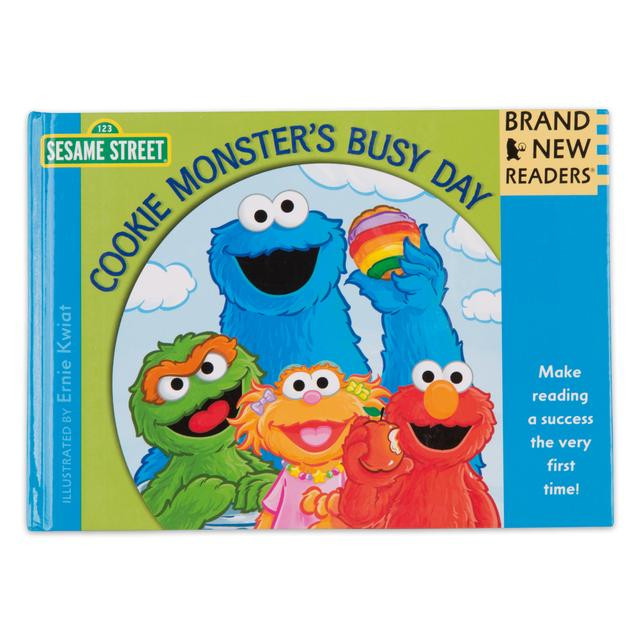 Sesame Street Cookie Monster's Busy Day Hard Cover