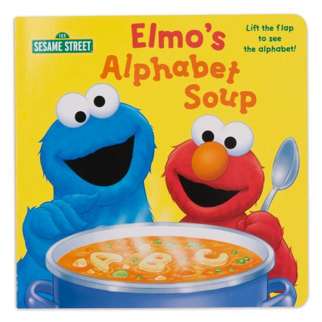 Sesame Street Elmo's Alphabet Soup