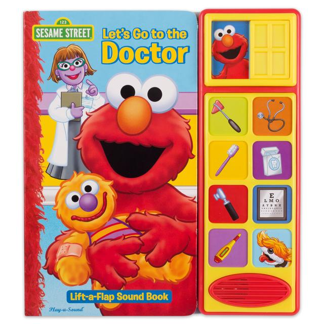 Sesame Street Let's Go to the Doctor Interactive Book