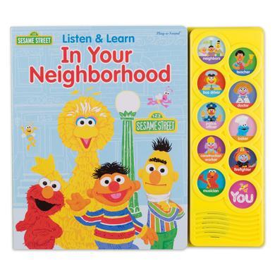 Sesame Street Listen & Learn In Your Neighborhood