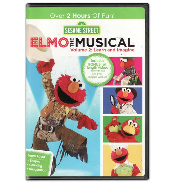 Sesame Street Elmo the Musical Volume 2 DVD