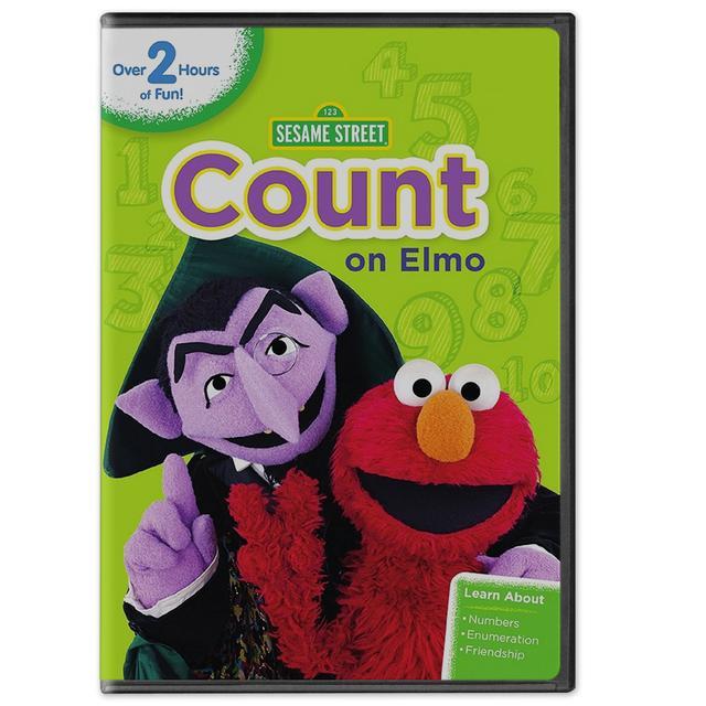 Sesame Street Count on Elmo DVD