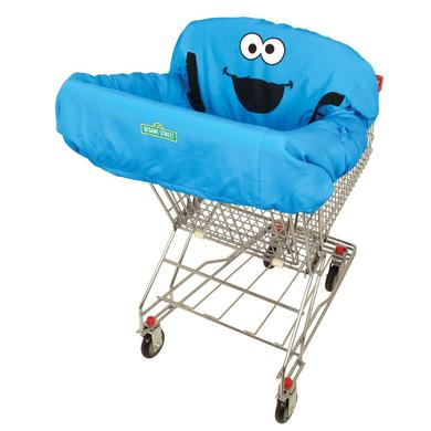 Sesame Street - Cookie Monster Shopping Cart Cover