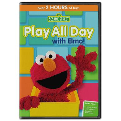 Sesame Street: Play All Day with Elmo DVD
