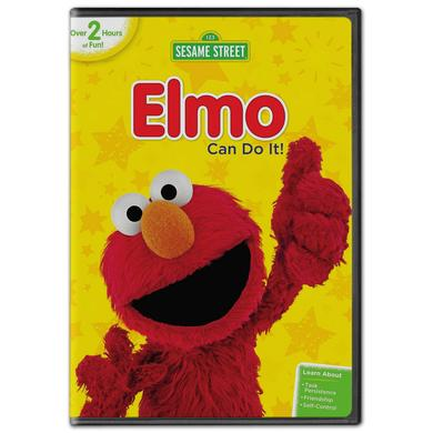 Sesame Street: Elmo Can Do It! DVD