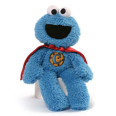 "Sesame Street Cookie Monster 12"" Superhero Plush"