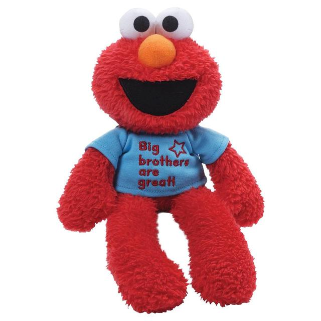 "Sesame Street Elmo 12"" Big Brother Plush"