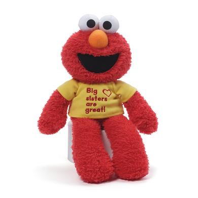 "Sesame Street Elmo 12"" Big Sister Plush"