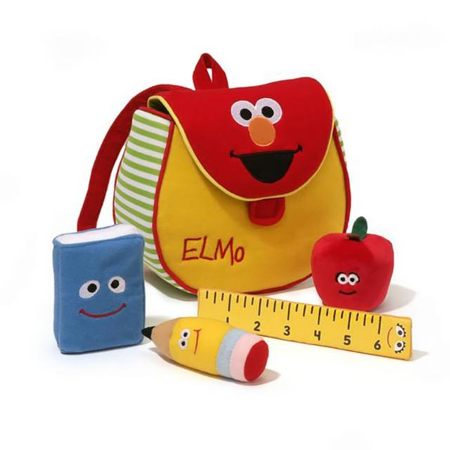 Sesame Street Elmo's Bookbag Playset