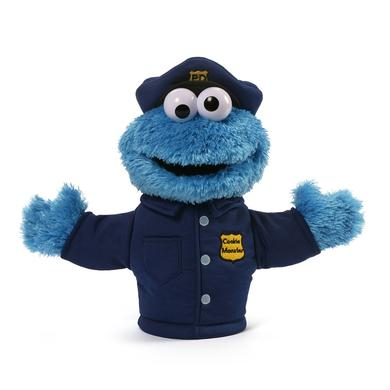Sesame Street Cookie Monster Policeman Puppet