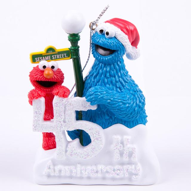 Sesame Street Elmo & Cookie Monster 45th Anniversary Ornament